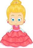 白肤金发的公主 免版税库存照片