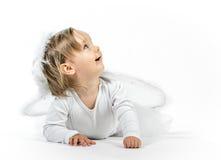 白肤金发的天使 免版税库存图片