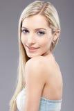 白肤金发的女孩 免版税图库摄影