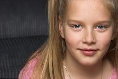 白肤金发的女孩 库存图片