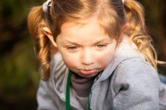 白肤金发的女孩15 库存照片