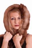 白肤金发的妇女。 免版税库存照片