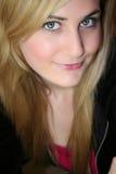 白肤金发的妇女年轻人 库存图片