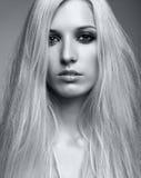白肤金发的妇女 库存图片