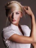 白肤金发的年轻人 免版税库存图片