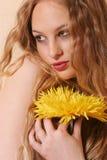白肤金发的性感的妇女年轻人 库存照片