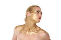 白肤金发的性感的妇女 库存照片