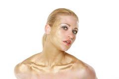 白肤金发的性感的妇女 免版税库存图片