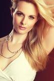 白肤金发的方式妇女 库存图片
