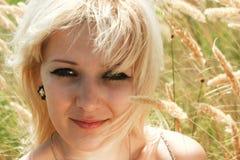 白肤金发的本质 图库摄影