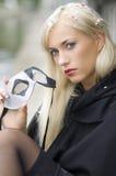 白肤金发的狂欢节 免版税库存图片