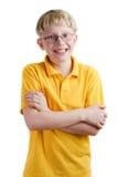 白肤金发的男孩年轻人 免版税库存照片