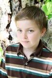 白肤金发的男孩 库存图片