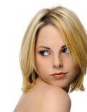 白肤金发的秀丽 库存图片