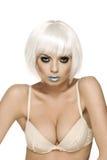 白肤金发的魅力 免版税库存照片