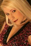 白肤金发的red1 图库摄影