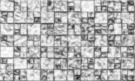 黑白背景的例证 免版税库存图片