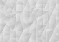 白色三角摘要传染媒介背景 向量图形设计 向量例证