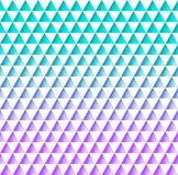 白色三角的美好的几何无缝的样式在tur的 库存例证