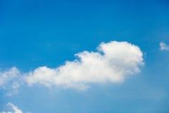 白色云彩 库存照片