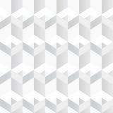 白色几何纹理 无缝的背景 库存照片