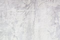 白色削皮油漆混凝土墙 免版税图库摄影