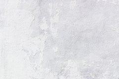 白色削皮油漆混凝土墙 免版税库存照片