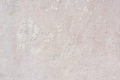 白色削皮油漆混凝土墙 免版税库存图片