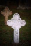 白色十字架 免版税库存图片