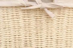 白色取暖织法 免版税库存图片