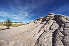 白色口袋,亚利桑那,美国 免版税库存图片