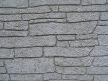 白色含沙块瓦片墙壁结构背景 免版税库存照片