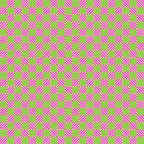白色和明亮的桃红色纹理棋样式 皇族释放例证