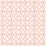 白色和杏子上色了复杂花filigrane patern 库存例证