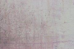 白色和桃红色混凝土墙 图库摄影