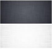 白色和灰色亚麻制纹理 免版税库存图片