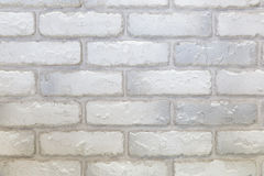 白色和灰色砖墙纹理 库存照片