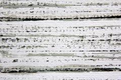 黑白色和灰色水彩条纹8 免版税库存图片