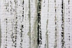 黑白色和灰色水彩条纹4 免版税库存图片