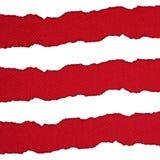 白色和红色水平的条纹 免版税库存照片