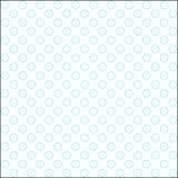 白色和航空蓝色上色了空心圆点patern 免版税库存照片
