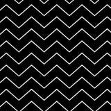 白色和黑线样式 免版税库存照片