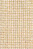 白色和黄色被编织的织品纹理 免版税库存照片
