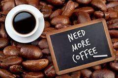 白色咖啡的综合图象 图库摄影