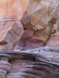 白色圆顶槽孔峡谷 免版税库存照片