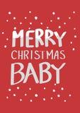 白色圣诞节行情 免版税库存照片