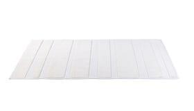 白色地毯 免版税库存照片