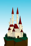 白色城堡 免版税库存照片