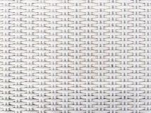 白色塑料编织 库存照片