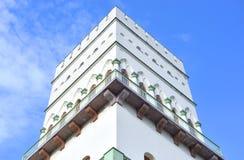 白色塔在Tsarskoe Selo 库存照片